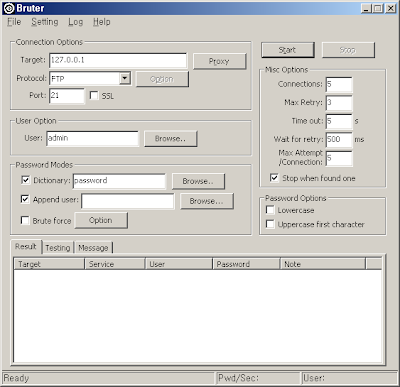 Brute Force Password Cracker Free Download: Bruter 1 0