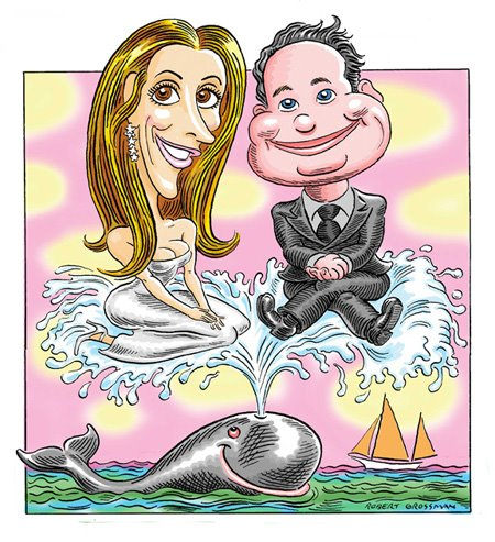JASON BINN and CRISTINA GREEVEN CUOMO of HAMPTONS MAGAZINE