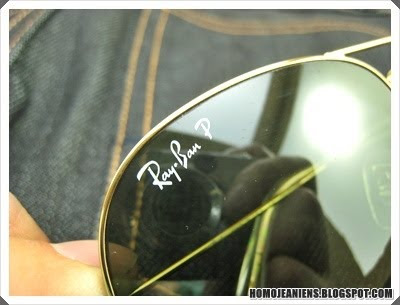 ray ban aviator 3025 real vs fake