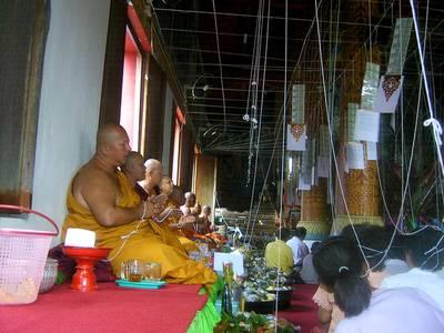 thai amulet empowerment ceremony