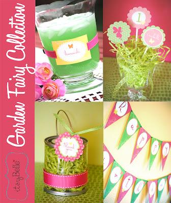 Sneak Peek: Garden Fairy Party Collection