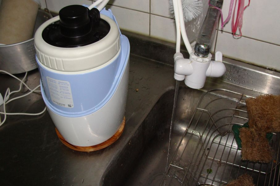 在 blog!: 安麗espring淨水器更換濾心