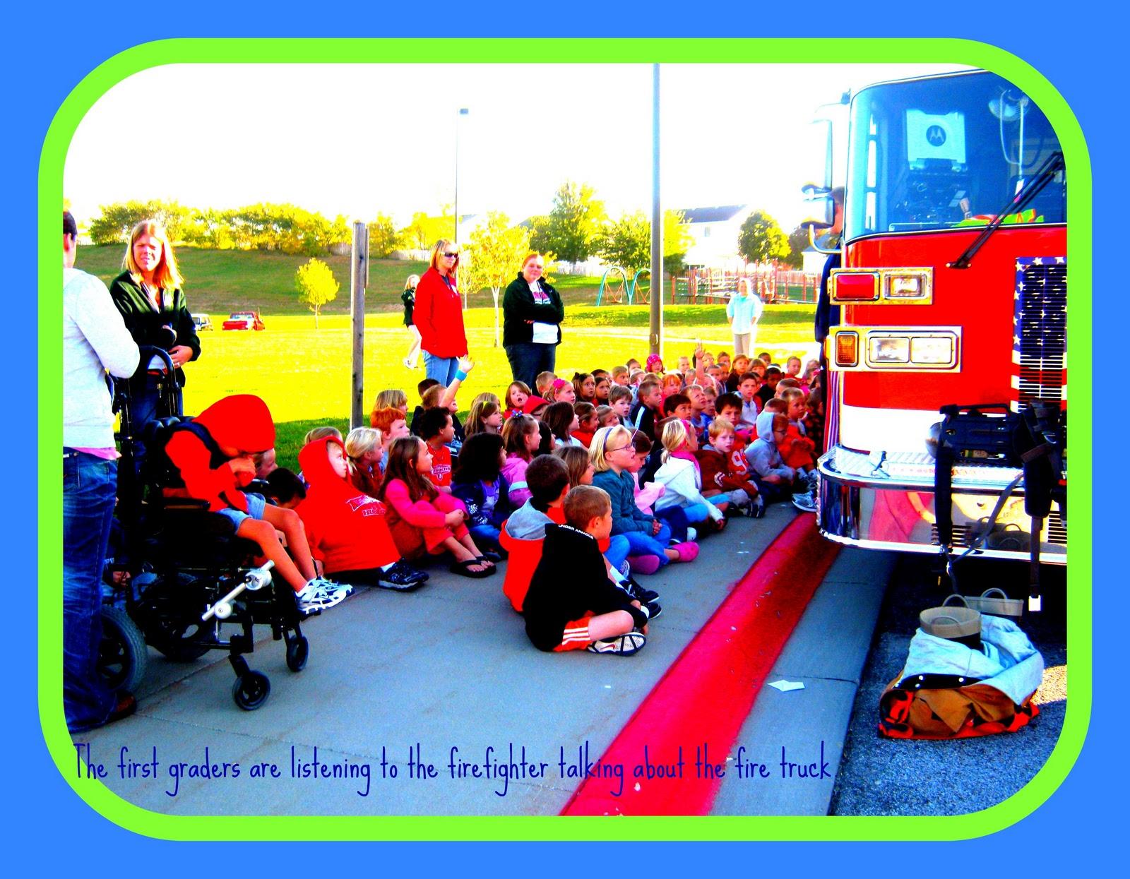 Portal Elementary School Fire Prevention Day
