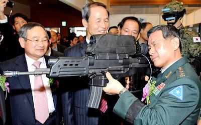 K 11 Gun k 11 gun Kepala Staff ROKA  Im