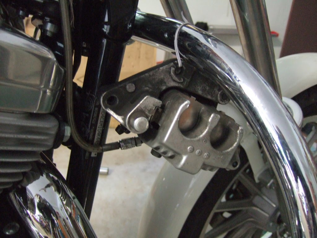 My Sportster Experience: Sportster Steering Neck Service