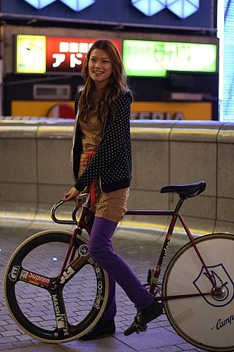 Fixed Gear Blog Girls On Bicycles
