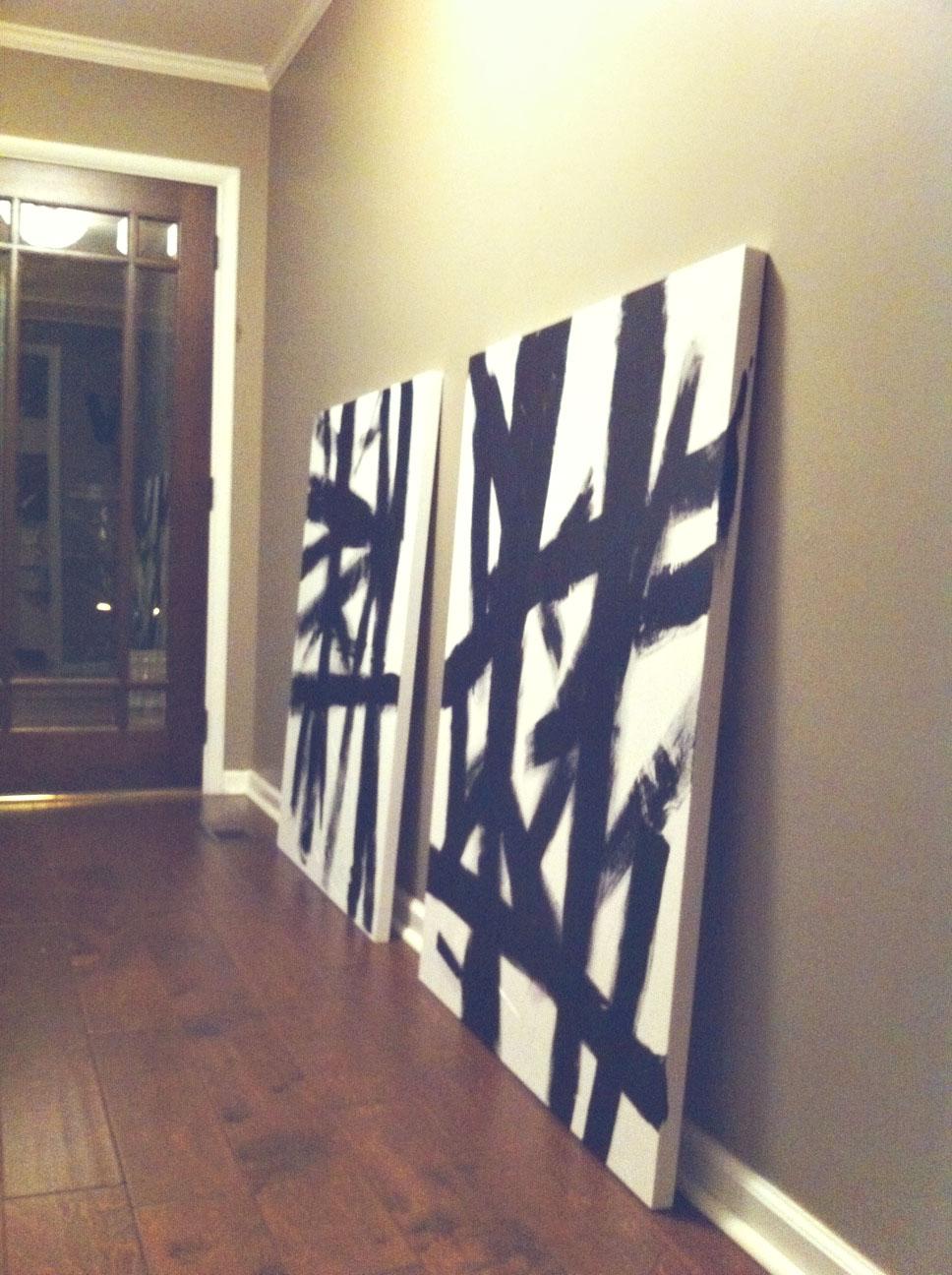 .: DIY Cheap Wall Art