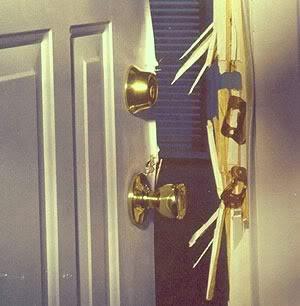 Defense Living: Door Locks: Normal Dead Bolts Do Not ...