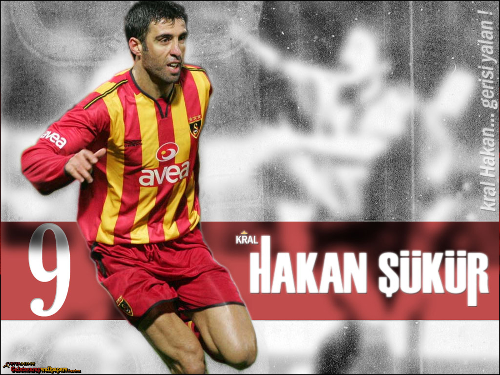 Galatasaray Wallpapers: 'Kral' Hakan Sükür