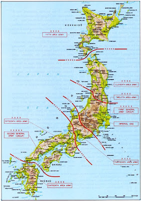 mapa defensas japon