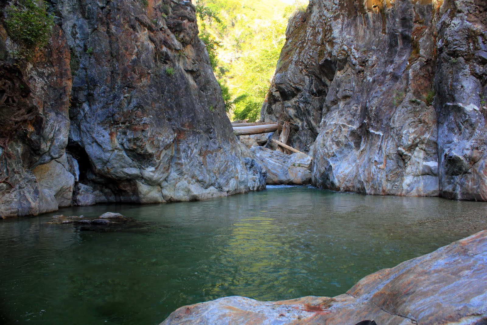 Swimming Holes Of California The Gorge Big Sur Ca