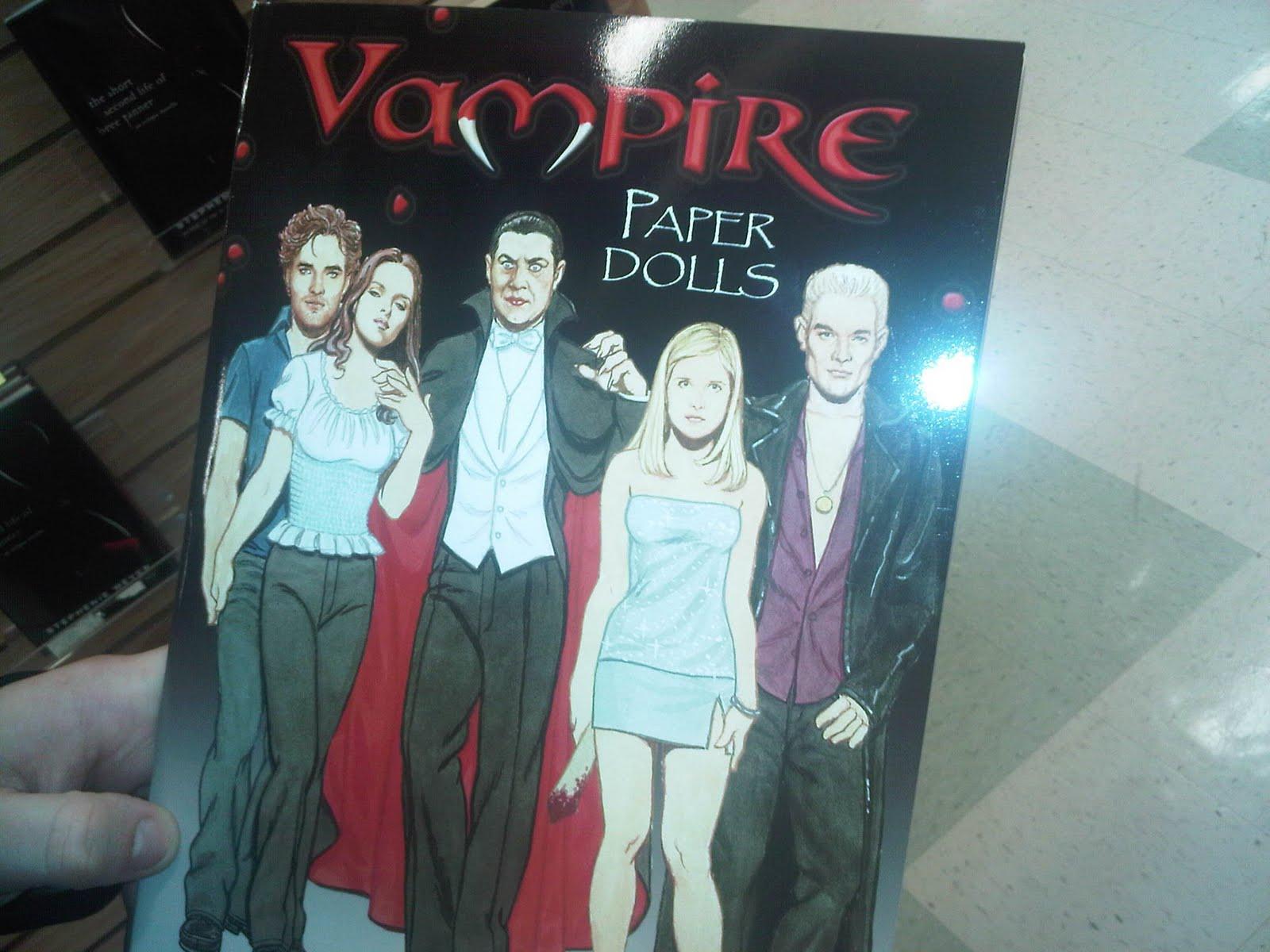 Mandy's Mind: Vampire Paper Dolls Book
