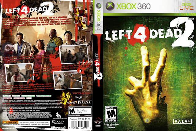 Left 4 Dead 2 XBOX 360 Full Español