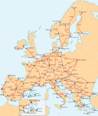 Resultado de imagem para comboios europa
