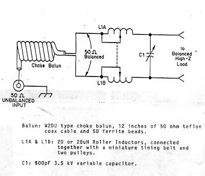 Antenna Tuner Schematics - Wiring Diagram Home
