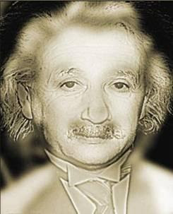 Einstein-Marilyn Monroe Illusion