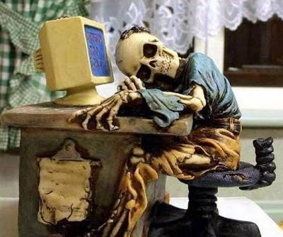Patiently waiting for all those things I was supposed to get by forwarding those emails!