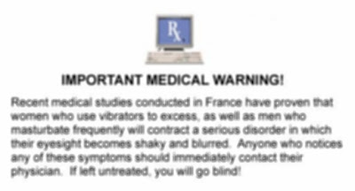 Important Medical Warning