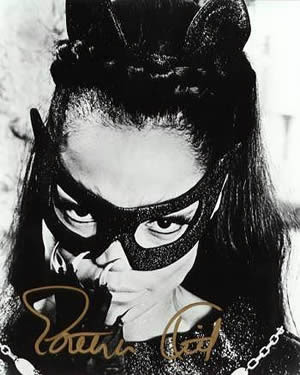 Eartha Kitt as Catwoman on 'Batman'