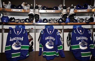 Canuck's Dressing Room