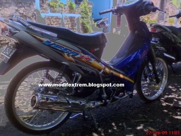 Modifikasi Yamaha New Vega R 110 Cc Minimalist Concept