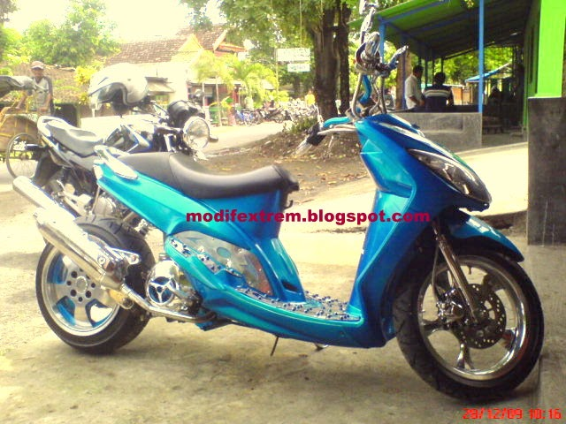 Motor Cycle Modification: YAMAHA MIO Sporty Modification