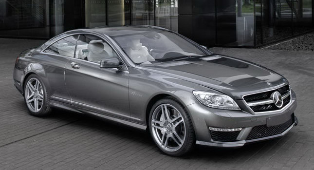 2011 New Mercedes-Benz CL63 AMG Revealed