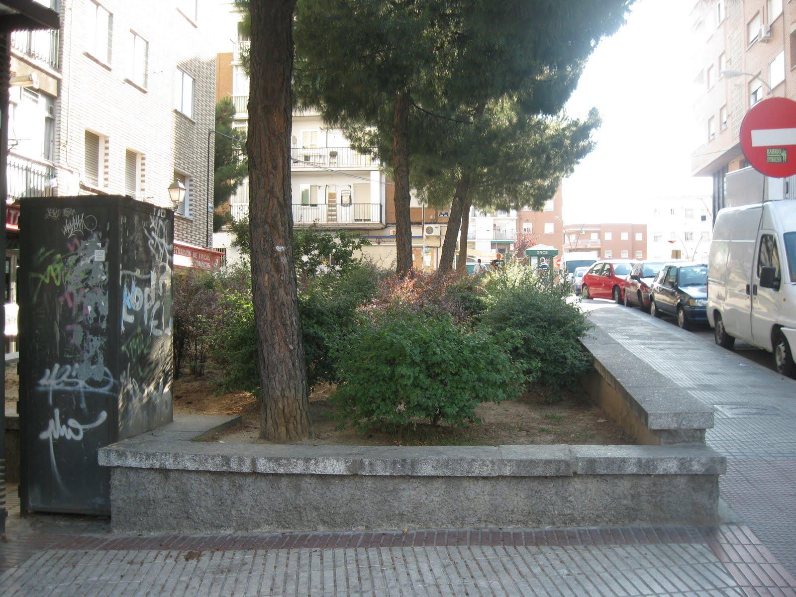 efectivo escolta desprotegido en Alcorcón