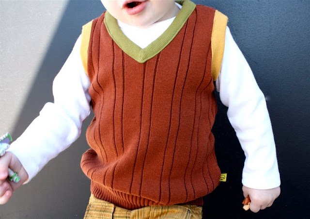 Vest from Sweater