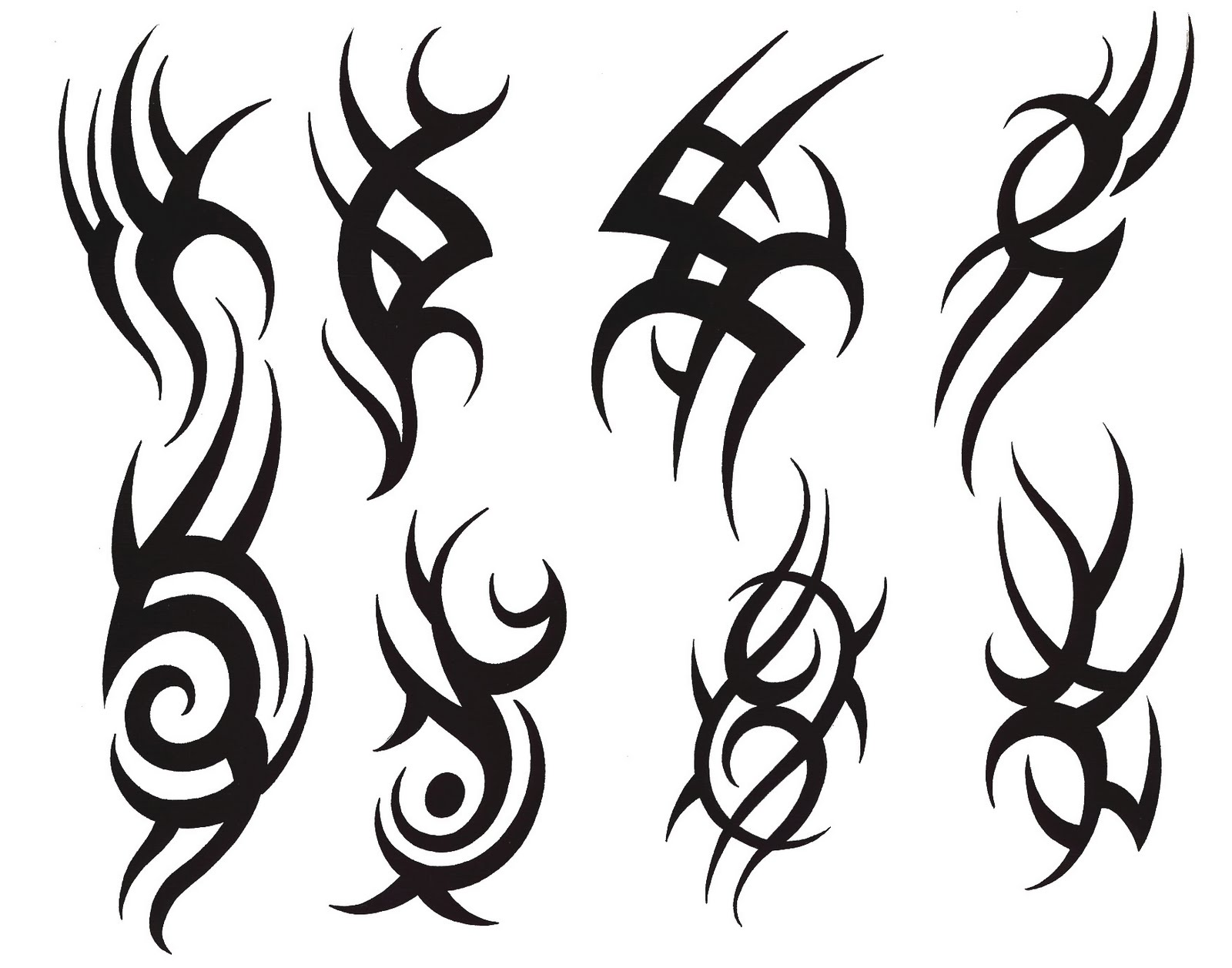 Tribal Tattoo Symbol: Very Popular Design Tattoos: Brilliant Tribal Symbols Tattoos