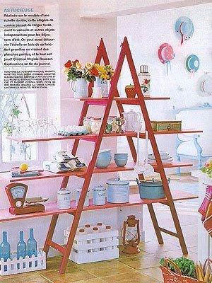 Casa decora o reciclados ideias criativas na decora o - Echelle decorative casa ...