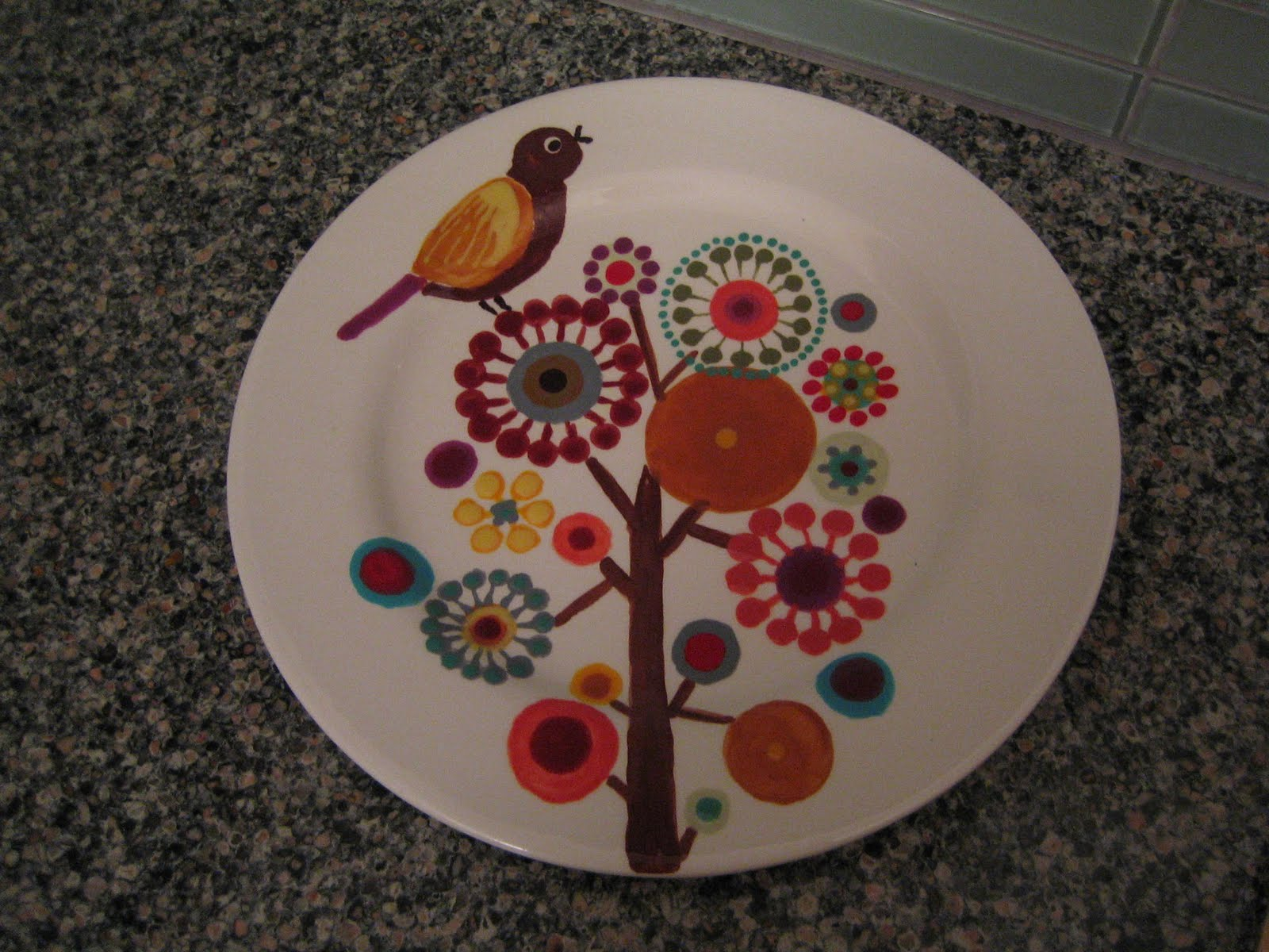 Pottery Plate Paint Ideas Family