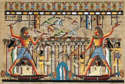 dieu oiseau égyptien
