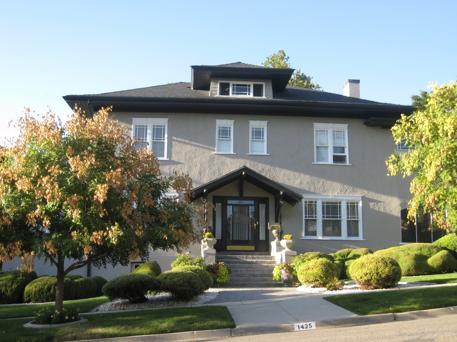 Very Fine House Slc Style Stucco Houses
