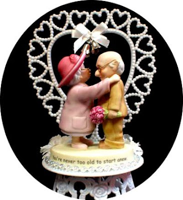 Wedding Cake Topper Gun And Wine