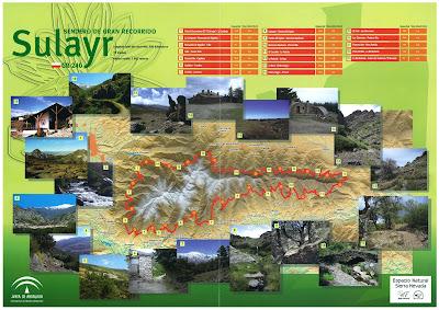 Tramos del Sendero Sulayr