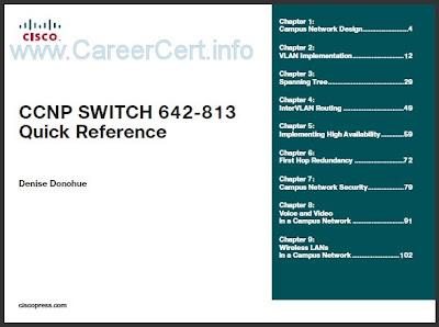 Switch 813 642 ccnp pdf testking
