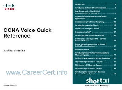 CCNA Collaboration Study Material » CareerCert info