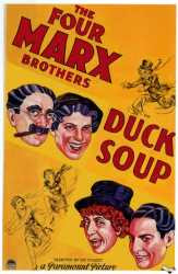 Movie poster: Duck Soup