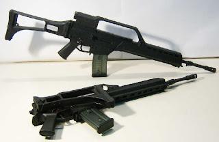 Fusil De Asalto Hk G 36e Cal 556 Mm Armas De Fuego