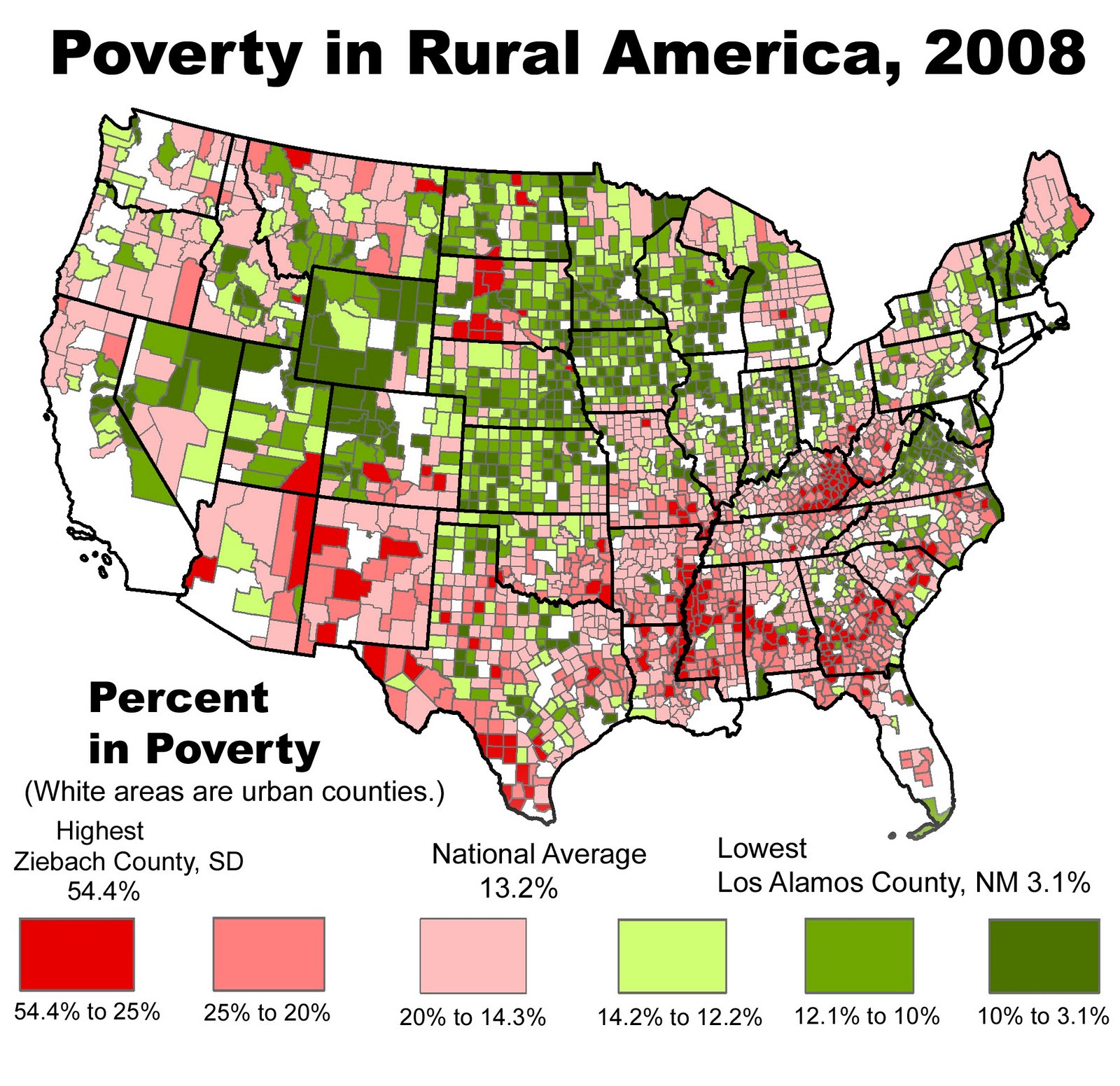 The Rural Blog: From 2003 To 2008, Poverty Grew Twice As