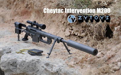 toyhaven: New from ZYTOYS - CheyTac M200 Sniper Rifle