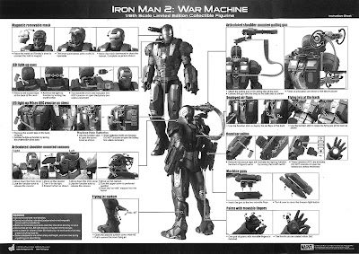 toyhaven: Hot Toys War Machine Collectible Figure REVIEW 1