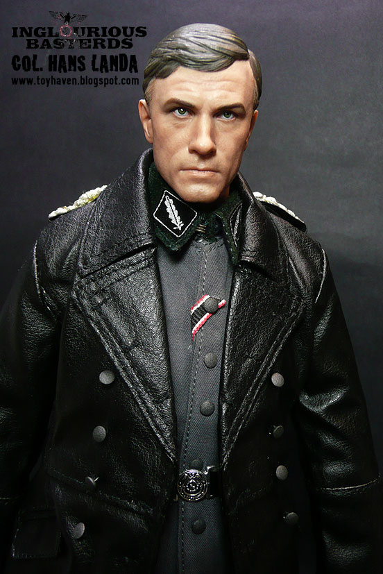 """toyhaven: Hot Toys Colonel Hans Landa from """"Inglourious ..."""