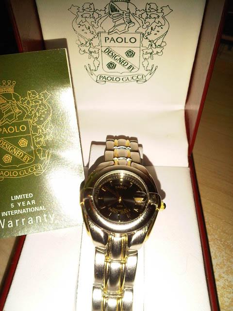 7e5cdcc584e Adding a Senti  Paolo Gucci Ladies Watch Giveaway!!!