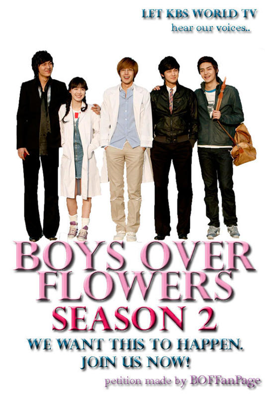 Boys over flowers season 2 release date