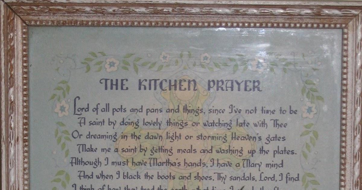 Vintage Kitchen Sink And Bath Remodel With A Grateful Heart: Prayer