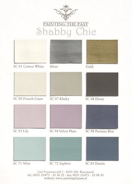 Painting The Past Farben.Shabby Homestyles Painting The Past
