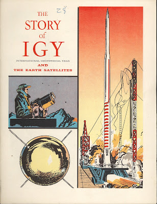 Dreams of Space - Books and Ephemera: The Story of the I G Y  and