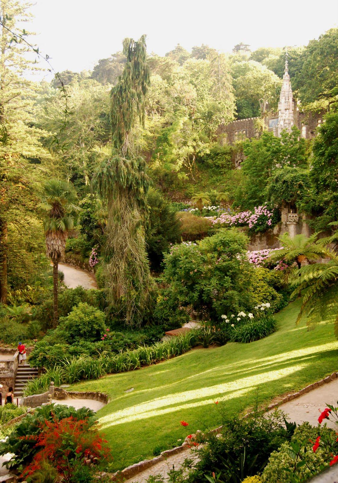 Paletas de cores: Quinta da Regaleira